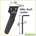 Other Neu ! 3 X Original Rabe-kg-30 Rechts Kreiselmesser